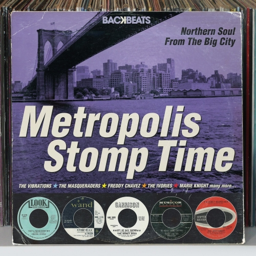 VA - Metropolis Stomp Time [Northern Soul From The Big City] (2013)