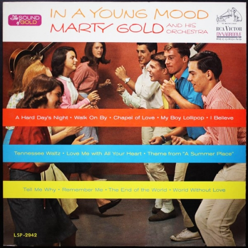 Marty Gold and His Orchestra - In A Young Mood (1964)