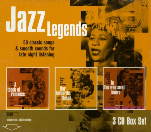 V.A. Jazz Legends - 50 Classic Songs And Smooth Sounds For Late Night Listening (3CD Box Set) 2009 Lossless