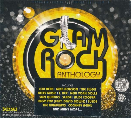 VA - Glam Rock Anthology (2012) FLAC