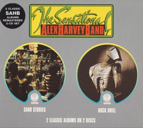 The Sensational Alex Harvey Band - Stories/Rock Drill [1976/78]Remastered(2002)Lossless