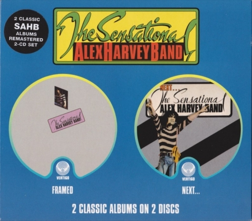 The Sensational Alex Harvey Band - Framed/Next [1972-73]Remastered(2002)Lossless