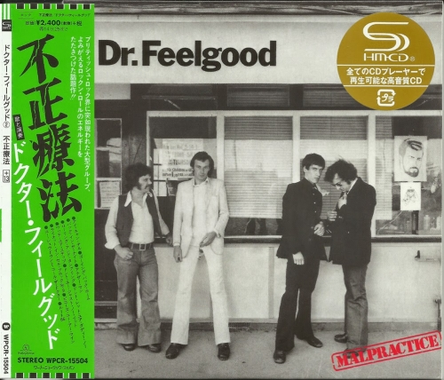 Dr. Feelgood - Malpractice (1975) ( japan remasterSHM 2014)Lossless