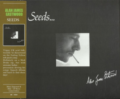 Alan James Eastwood - Seeds (1971) Korean remaster [Limited Edition] (2014) Lossless