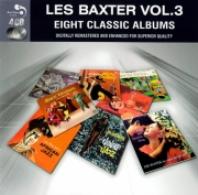 Les Baxter - Eight Classic Albums Vol.3 (2011)