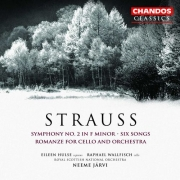 Neeme Järvi - Strauss: Symphony No. 2 in F minor; Six Songs; Romanze for Cello and Orchestra (2004)