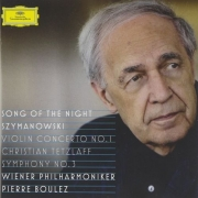 Pierre Boulez - Szymanowski: Violin Concerto No. 1 & Symphony No. 3, 'Song of the Night' (2010)