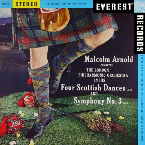 London Philharmonic Orchestra, Malcolm Arnold - Malcolm Arnold: 4 Scottish Dances & Symphony No. 3 (1959/2013) [HDTracks]