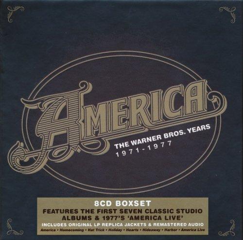 America - Warner Bros Years 1971-1977 [8CD Box Set] (2015)