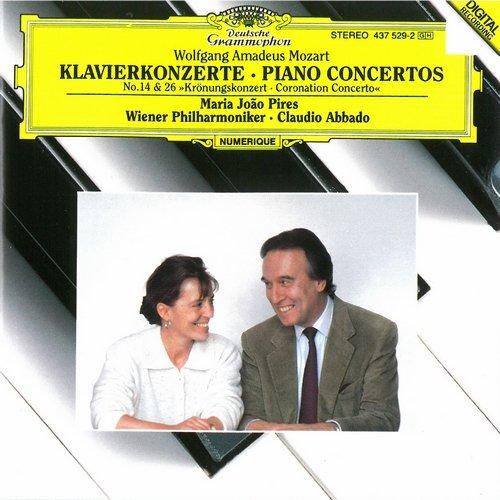 Maria João Pires, Wiener Philharmoniker, Claudio Abbado - Mozart - Piano Concertos Nos. 14 & 26 (1993)