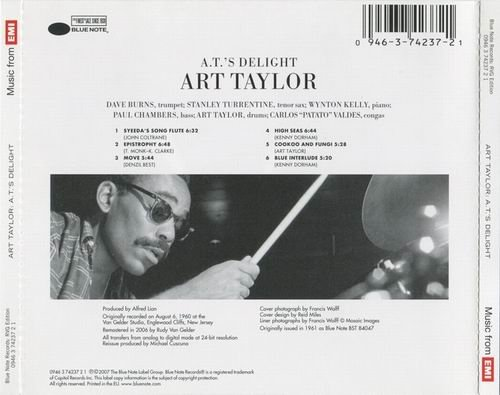 Art Taylor - A T 's Delight (1960) Flac   IsraBox