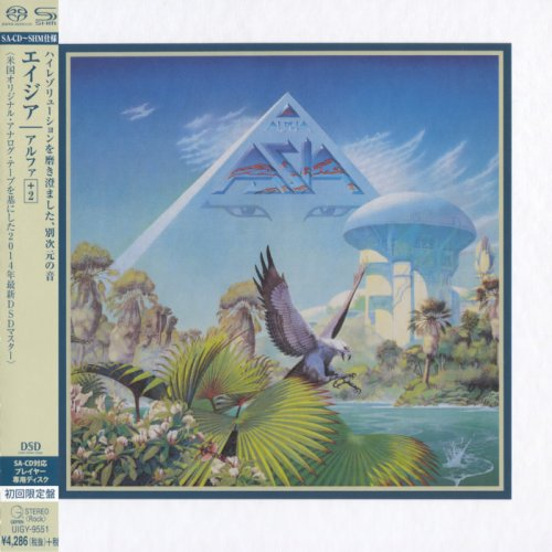Asia - Alpha (1983) [Japanese Limited SHM-SACD 2014] PS3 ISO + HDTracks