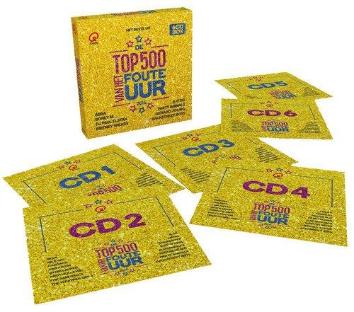 VA - Qmusic: Het Beste Uit De Top 500 Van Het Foute Uur [6CD Box Set] (2016) Lossless