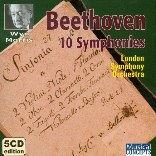 Wyn Morris, London Symphony Orchestra - Beethoven: Symphonies (5CD) (1989)