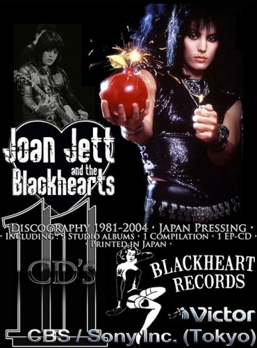 Joan Jett - Discography [11 CD • Japan 1st Press] (1981-2004)