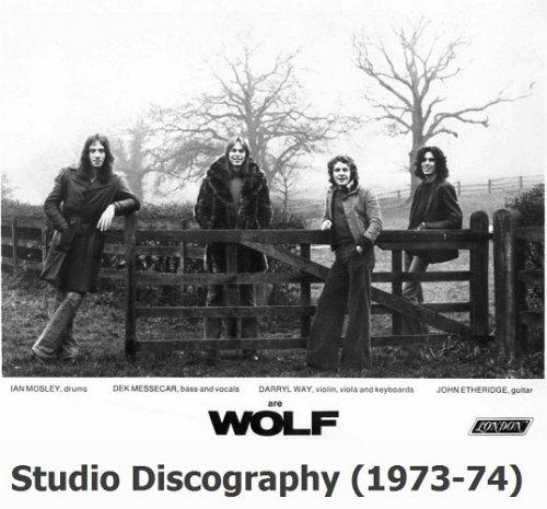 Darryl Way's Wolf - Studio Discography (1973-74) [2008 Japan Remastered]