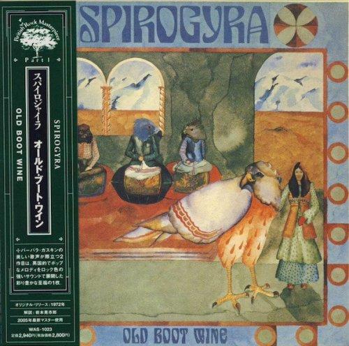 Spirogyra - Old Boot Wine (1972/2005) CD rip