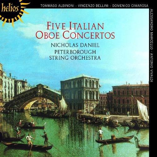 Nicholas Daniel, Peterborough String Orchestra - Five Italian Oboe Concertos (1999)
