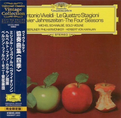 Michel Schwalbé, Herbert von Karajan, Berliner Philharmoniker - Antonio Vivaldi - Le Quattro Stagioni (2004)