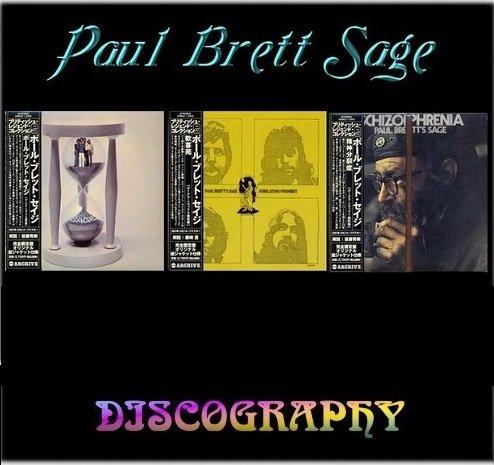 Paul Brett Sage - 3 Albums 1970-72 (Japan Mini LP 24 Bit Remaster 2007)