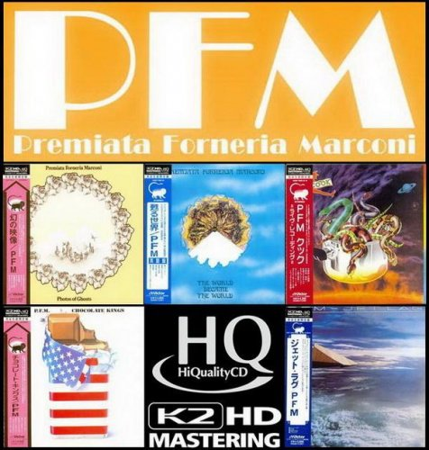 P.F.M. / Premiata Forneria Marconi - 5 Albums (Mini LP HQCD K2HD Mastering 2011)