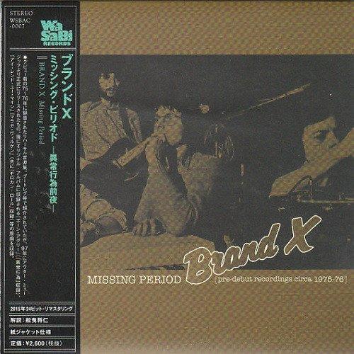Brand X - Missing Period (1997)