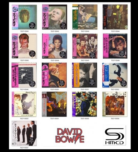 David Bowie - Collection [17xSHM-CD Cardboard Sleeve Reissues] (2009)