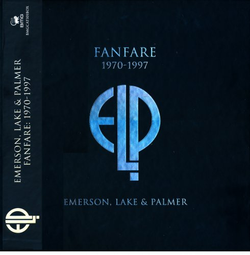 Emerson, Lake & Palmer - Fanfare 1970-1997 (2017) [Box Set]