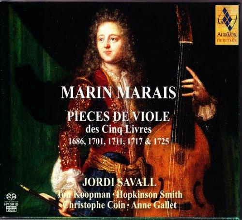 Jordi Savall - Marin Marais: Pieces de Viole des Cinq Livres (1975-1983) [2011 SACD]