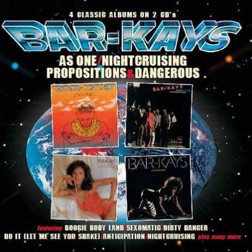 The Bar-Kays - As One / Nightcruising / Propositions / Dangerous (2018)