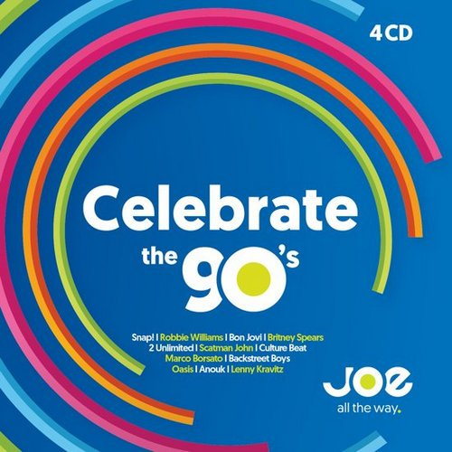 VA - Joe - Celebrate The 90's [4CD Box Set] (2017)