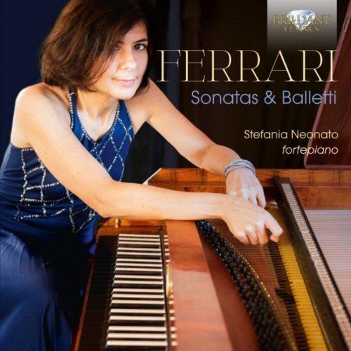 Stefania Neonato - Ferrari: Sonatas & Balletti (2018) [Hi-Res]