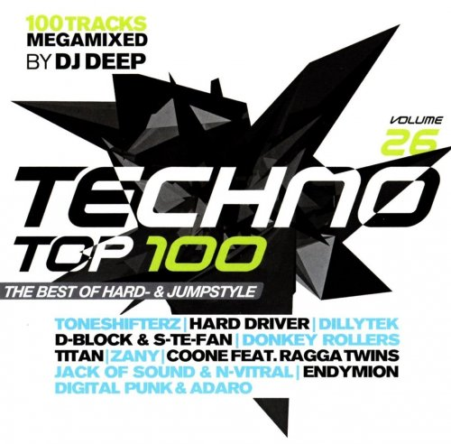 VA - Techno Top 100 Vol.26 The Best Of Hard And Jump (2018)