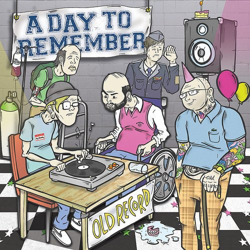 A Day To Remember ‎- Old Record (2010) LP