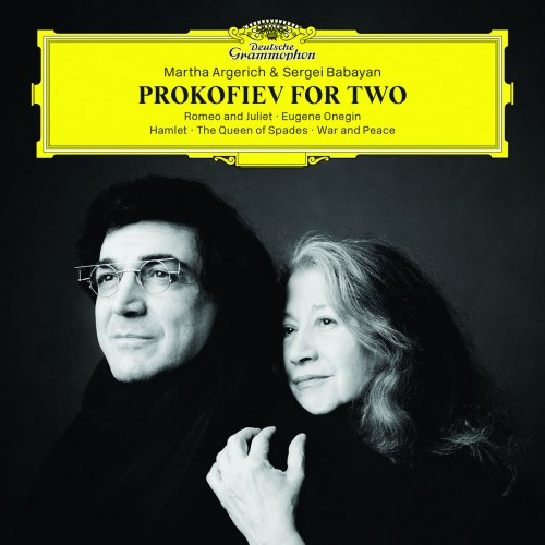 Martha Argerich & Sergei Babayan - Prokofiev for Two (2018) [CD-Rip]