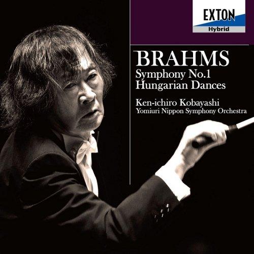 Yomiuri Nippon Symphony Orchestra, Ken-Ichiro Kobayashi - Johannes Brahms: Symphony No. 1; Hungarian Dances (2014) [HDtracks]
