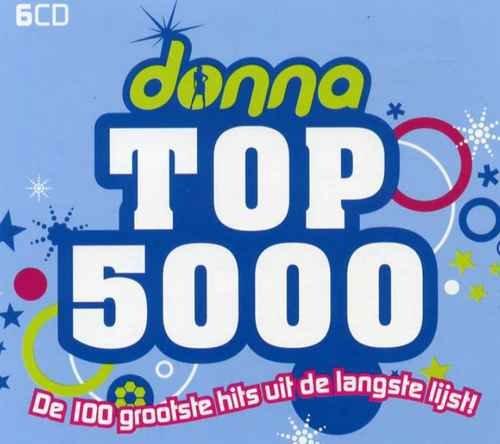 VA - Donna Top 5000 - De 100 Grootste Hits Uit De Langste Lijst! [6CD Box Set] (2008)