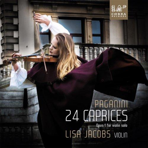 Lisa Jacobs - 24 Caprices of Niccolo Paganini (2018) [Hi-Res]