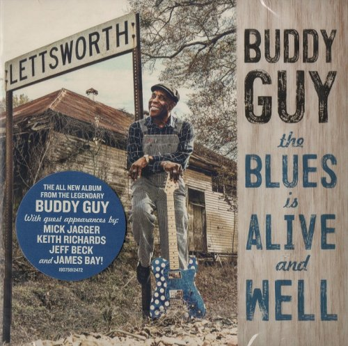 Buddy Guy - The Blues Is Alive And Well (2018) CD-Rip