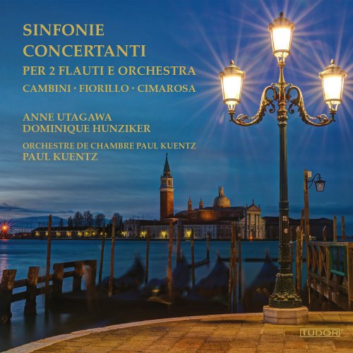 Anne Utagawa - Sinfonie concertanti per 2 flauti e orchestra (2018)