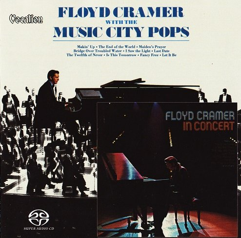 Floyd Cramer - With The Music City Pops & In Concert (1970-1974) [2018 SACD]