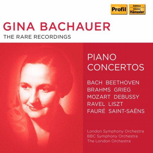 Gina Bachauer - The Rare Recordings (2018)