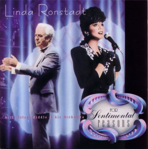 Linda Ronstadt With Nelson Riddle & His Orchestra - For Sentimental Reasons (1986) Vinyl