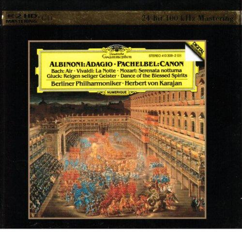 Berlin Philharmonic Orchestra & Herbert von Karajan - Albinoni: Adagio; Pachelbel: Canon (2013)