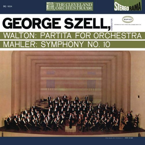 George Szell - Walton: Partita for Orchestra / Mahler: Symphony No. 10 (Remastered) (2018) [Hi-Res]
