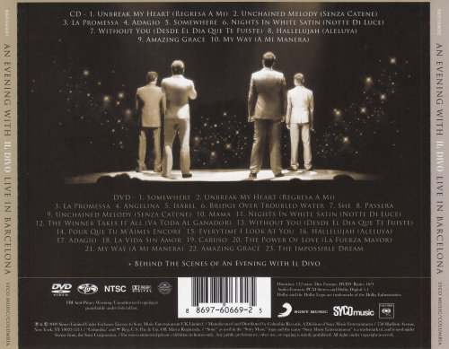 Il Divo - Live in Barcelona (2009)