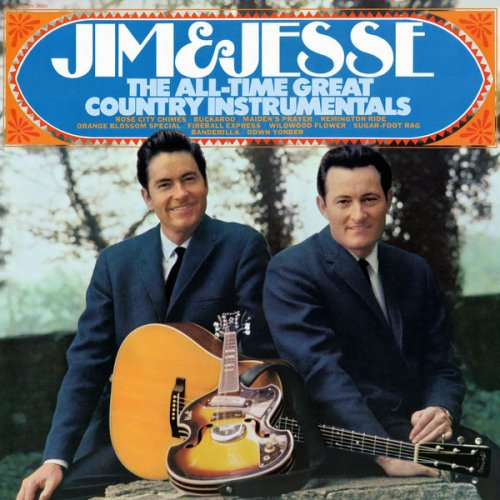 Jim & Jesse - All-Time Great Country Instrumentals (2018) [Hi-Res]