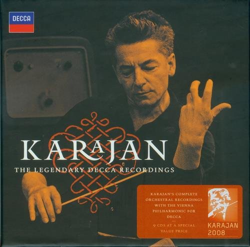 Herbert von Karajan - The Legendary Decca Recordings (9CD BoxSet) (2008)