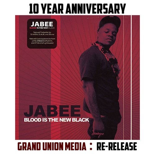 Jabee - Blood is the New Black (Re:issue) (2008/2018)