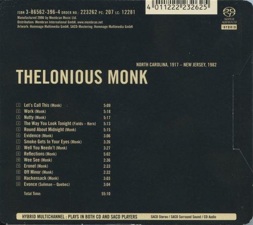 Thelonious Monk - Supreme Jazz (2006) [SACD]